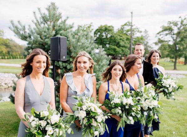 Brides maid bouquets