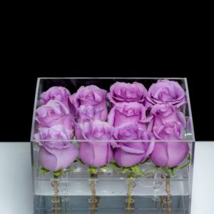 12 stem rose box