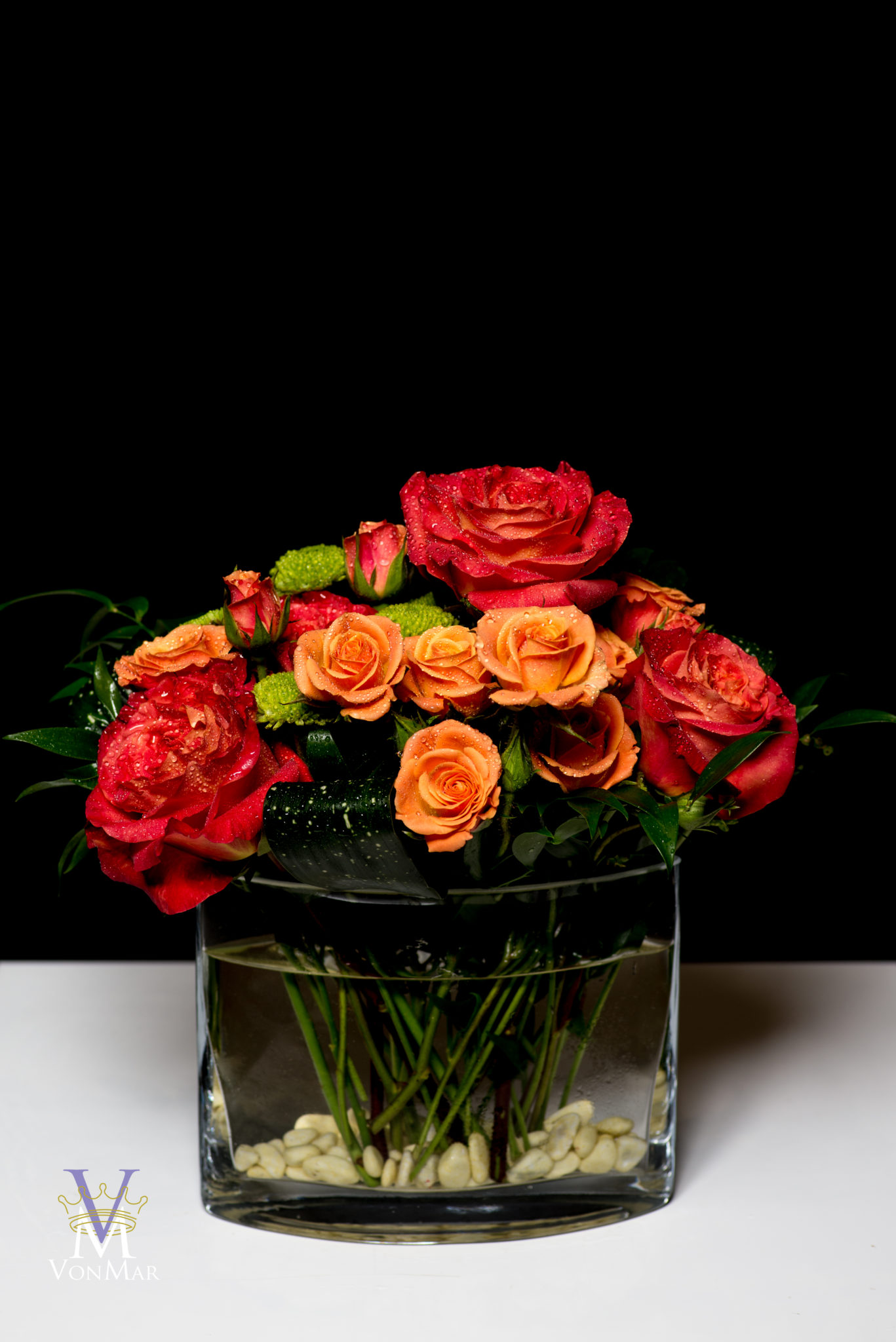 Orange rose Fresh Cuts